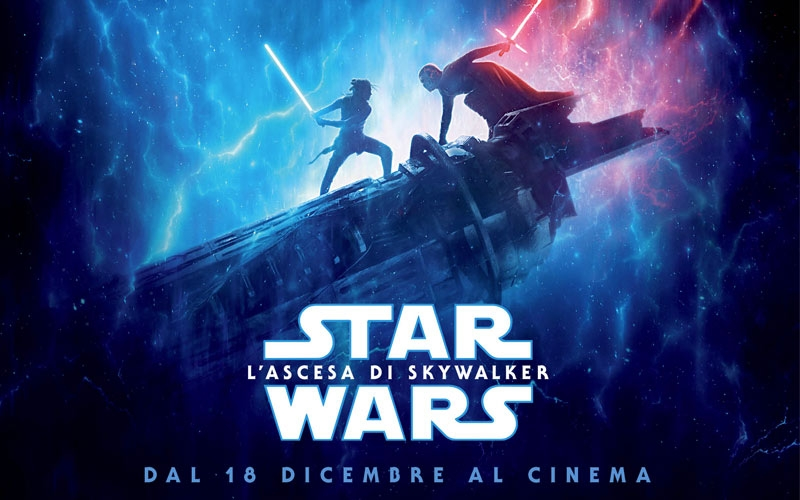 Star Wars L'ascesa di SkyWalker dal 18 dicembre 2019 al cinema