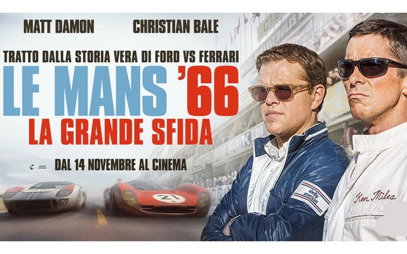locandina le mans 66 la grande sfida al cinema